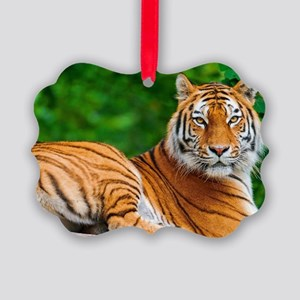 tiger Picture Ornament