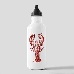 Red Lobster Sports Water Bottle