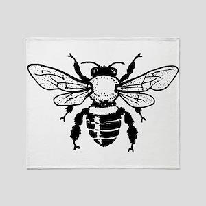 Honey Bee Throw Blanket