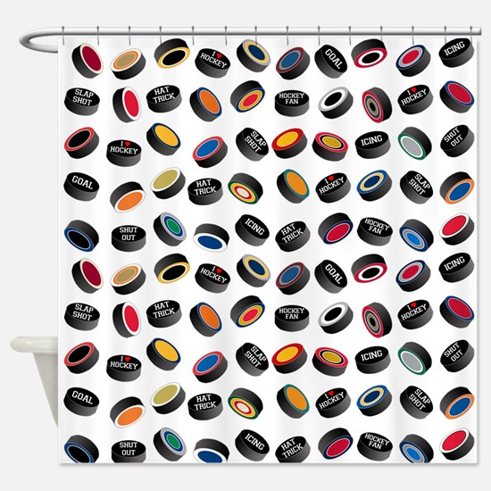 Pucking Awesome Shower Curtain