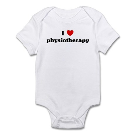 I Love physiotherapy Infant Bodysuit