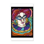 Mardi Gras Hallenus D2 2014 35X21 Wall Decal