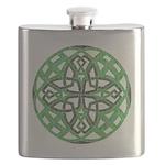 Celtic Clover Mandala Flask