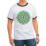 Celtic Clover Mandala Ringer T