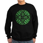 Celtic Clover Mandala Sweatshirt (dark)