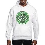 Celtic Clover Mandala Hooded Sweatshirt