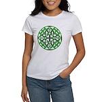 Celtic Clover Mandala Women's T-Shirt