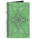 Celtic Clover Mandala Journal