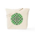 Celtic Clover Mandala Tote Bag