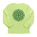 Celtic Clover Mandala Long Sleeve Infant T-Shirt