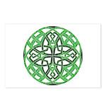 Celtic Clover Mandala Postcards (Package of 8)