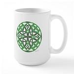 Celtic Clover Mandala Large Mug