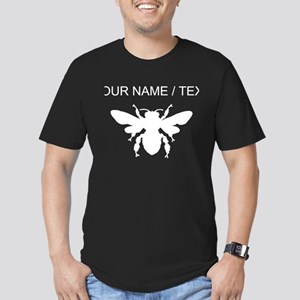 Custom Honey Bee Silhouette T-Shirt