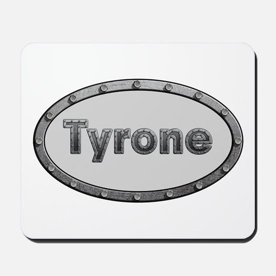 Tyrone Metal Oval Mousepad