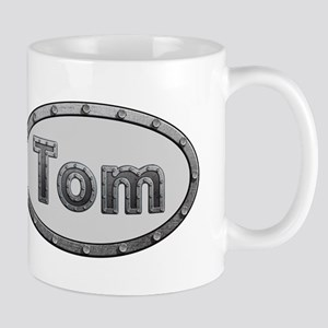 Tom Metal Oval Mugs