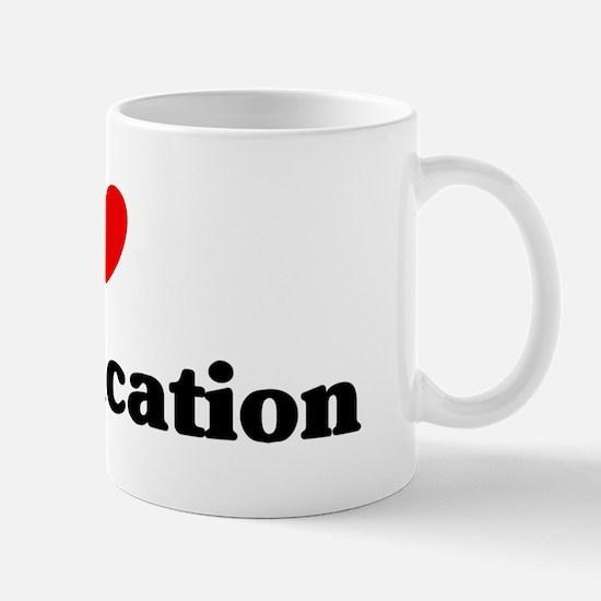 I Love sex education Mug
