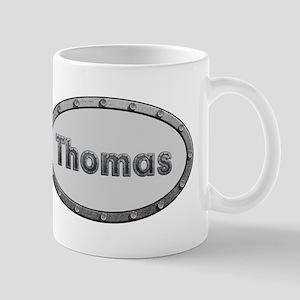 Thomas Metal Oval Mugs