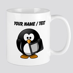 Custom Tablet Penguin Mugs
