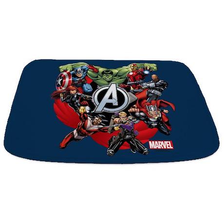 Avengers Group Bathmat
