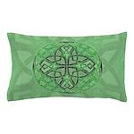 Celtic Clover Mandala Pillow Case