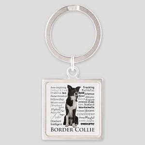 Border Collie Traits Keychains