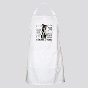 Border Collie Traits Apron