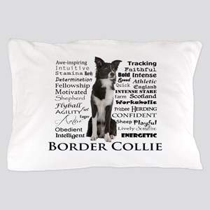 Border Collie Traits Pillow Case