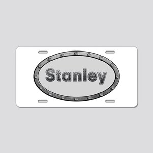 Stanley Metal Oval Aluminum License Plate