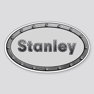Stanley Metal Oval Sticker
