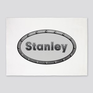 Stanley Metal Oval 5'x7'Area Rug