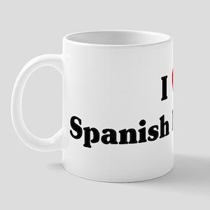 I Love Spanish literature Mug