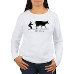 Ski Iowa Women's Long Sleeve T-Shirt