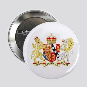"Diana, Princess of Wales Coat of Arms 2.25"" Button"