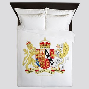 Diana, Princess of Wales Coat of Arms Queen Duvet