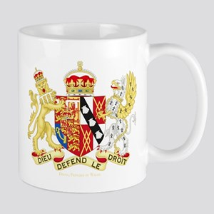 Diana, Princess of Wales Coat of Arms Mugs