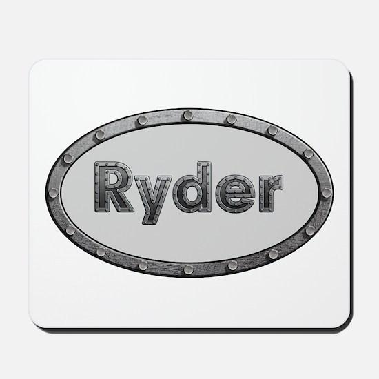 Ryder Metal Oval Mousepad