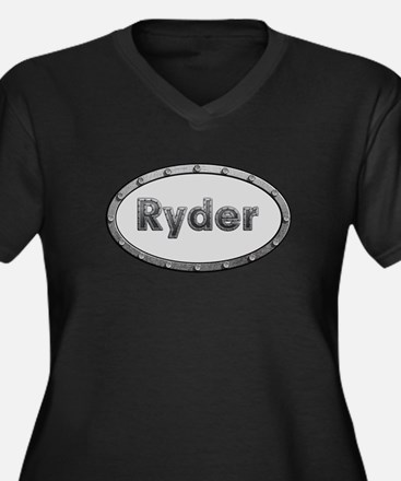 Ryder Metal Oval Plus Size T-Shirt