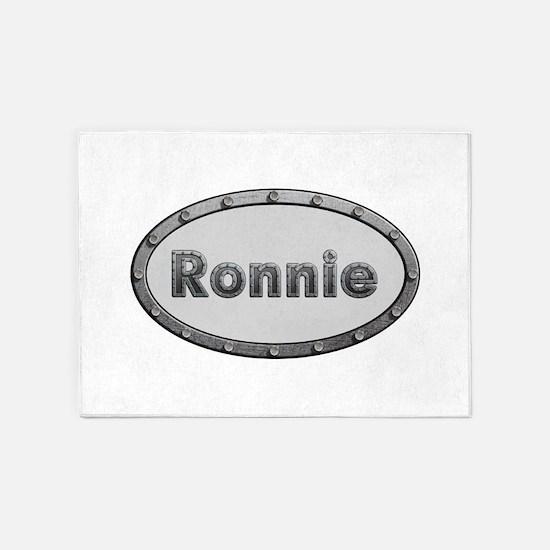 Ronnie Metal Oval 5'x7'Area Rug