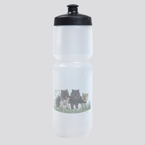 Kilted Cairn Terriers Sports Bottle