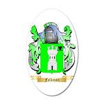Falkman 35x21 Oval Wall Decal