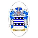 Falkingham Sticker (Oval)