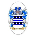 Falkingham Sticker (Oval 10 pk)