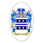 Falkingham Sticker (Oval 50 pk)