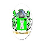 Falkievich Oval Car Magnet
