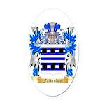Falkenham Oval Car Magnet