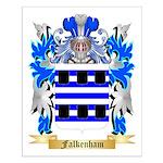 Falkenham Small Poster