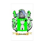 Falkenflik Sticker (Rectangle 50 pk)