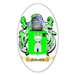 Falkenflik Sticker (Oval)