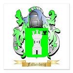 Falkenberg Square Car Magnet 3