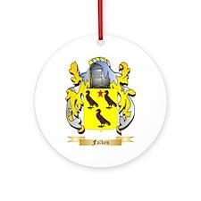 Falken Ornament (Round)